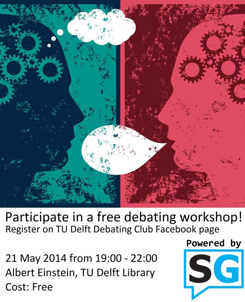 debat poster