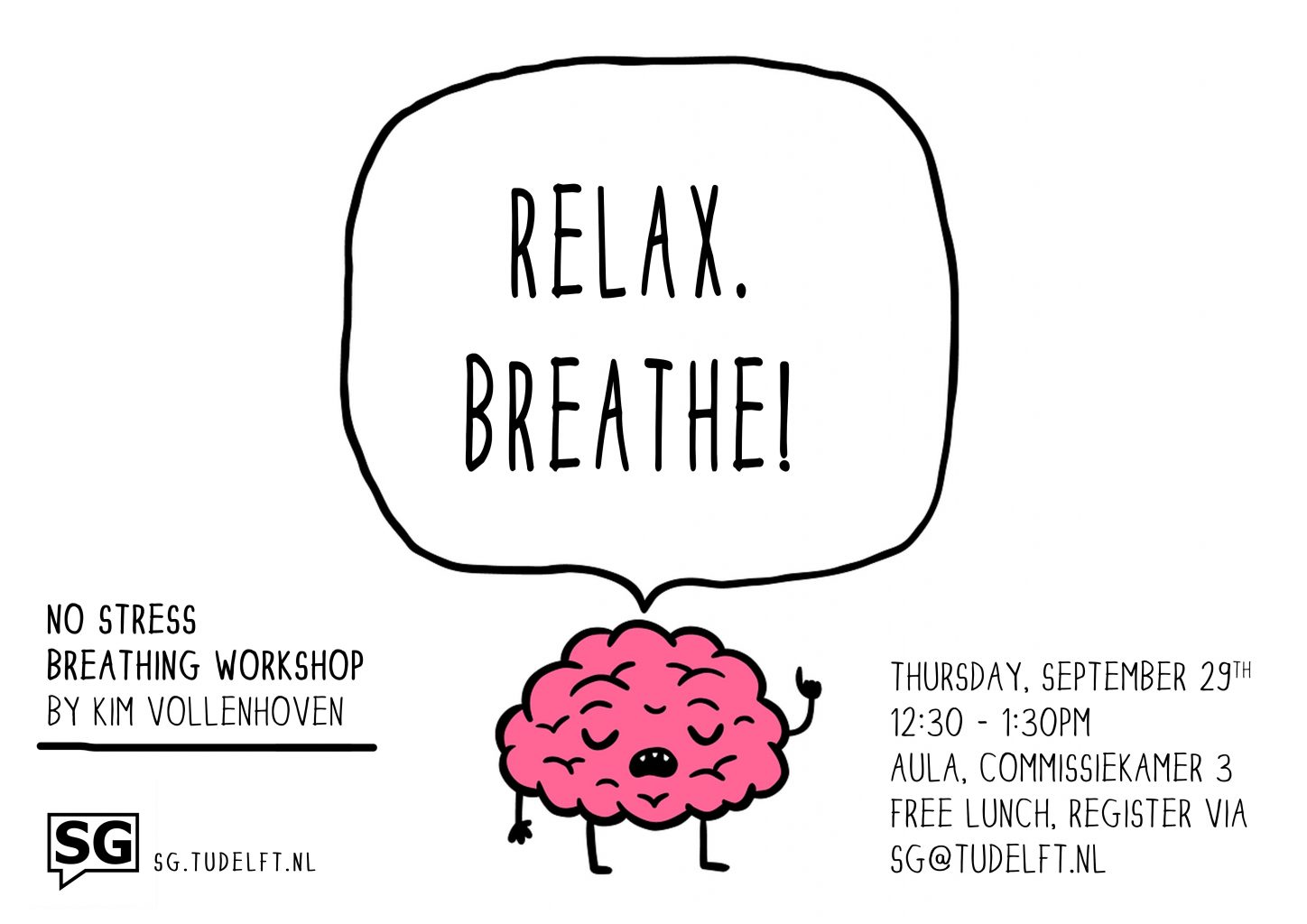Breathing workshop brain